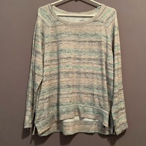 Sonoma • Static design crew neck sweater. PXL